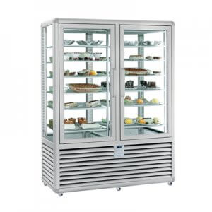 Vitrina congelare verticala dubla cofetarie gelaterie 742 lt